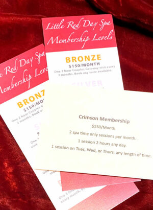 Little Red Day Spa Membership Plan